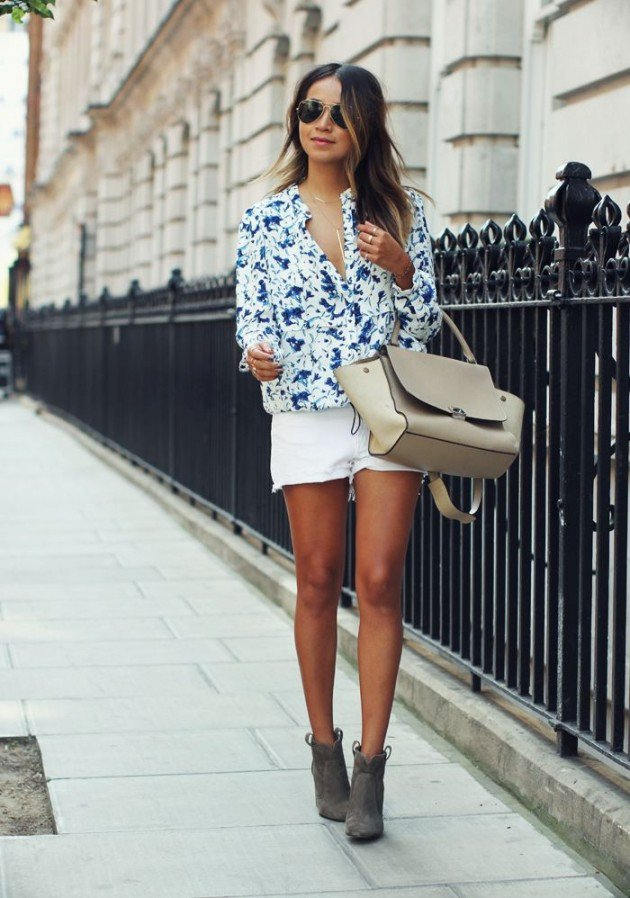 Pretty Street Style Outfits For The Summer