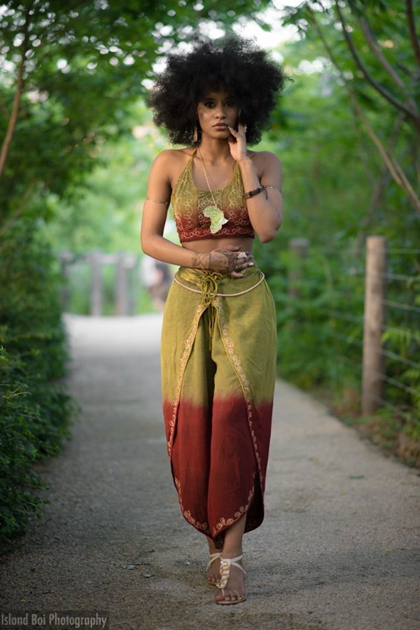 Black (African) Girl Street Style