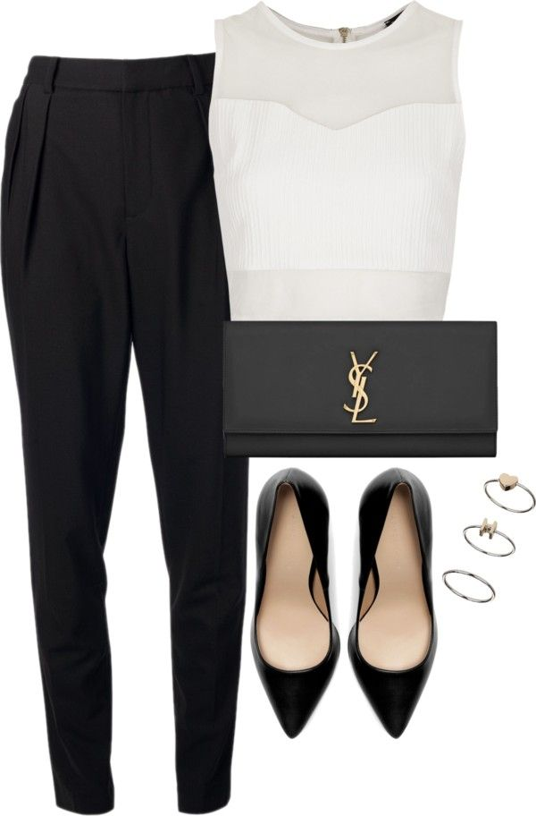 Business Women Modern Polyvore Combinations