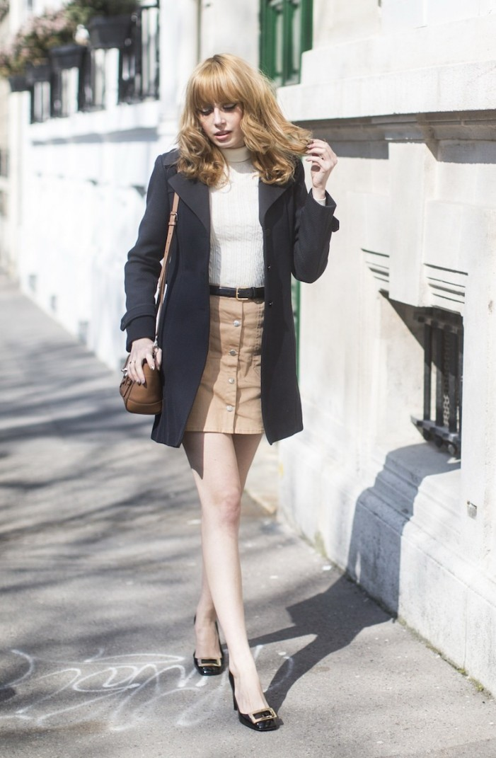 How To Wear: Button Front Skirts