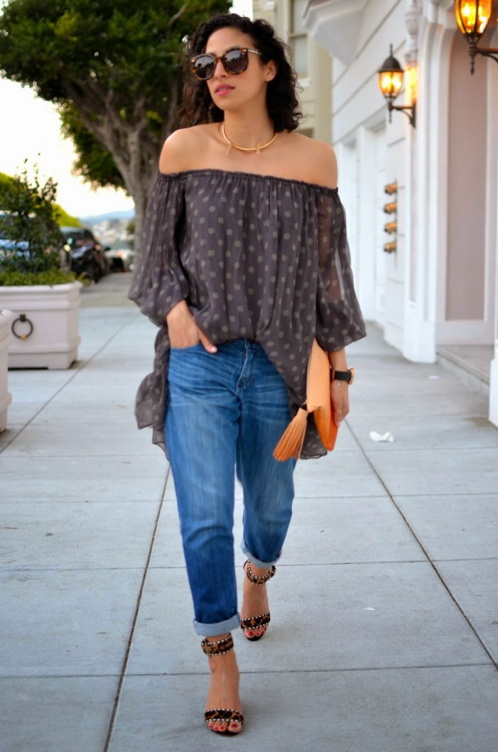 Off Shoulders - Best Street Style Looks