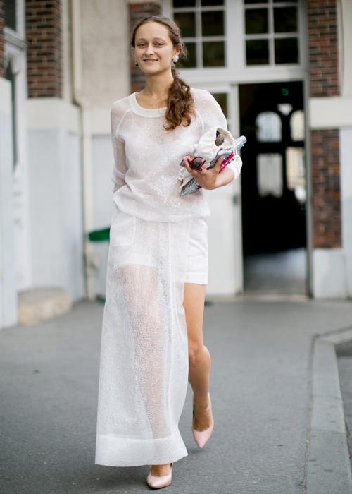 Street Style: Sheer Clothes 2020