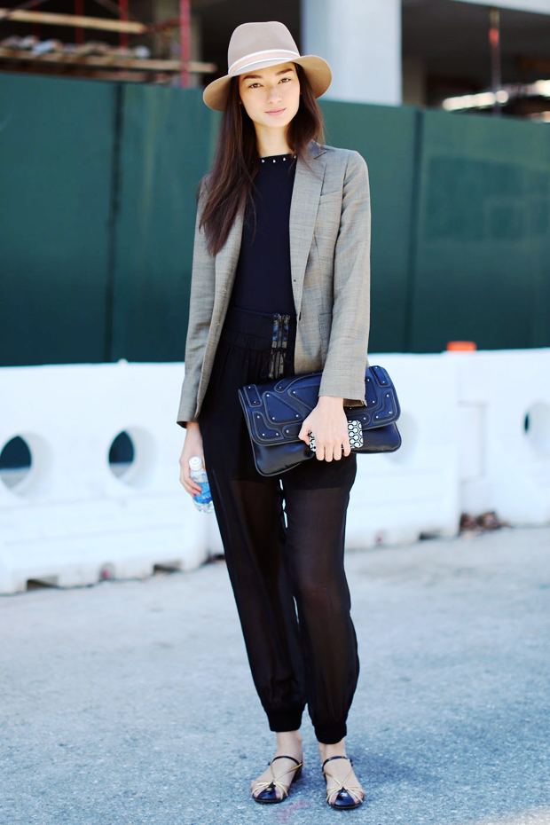 Street Style: Sheer Clothes