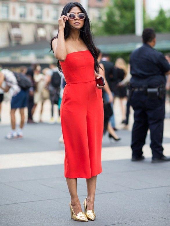 Street Style: Strapless Looks 2021