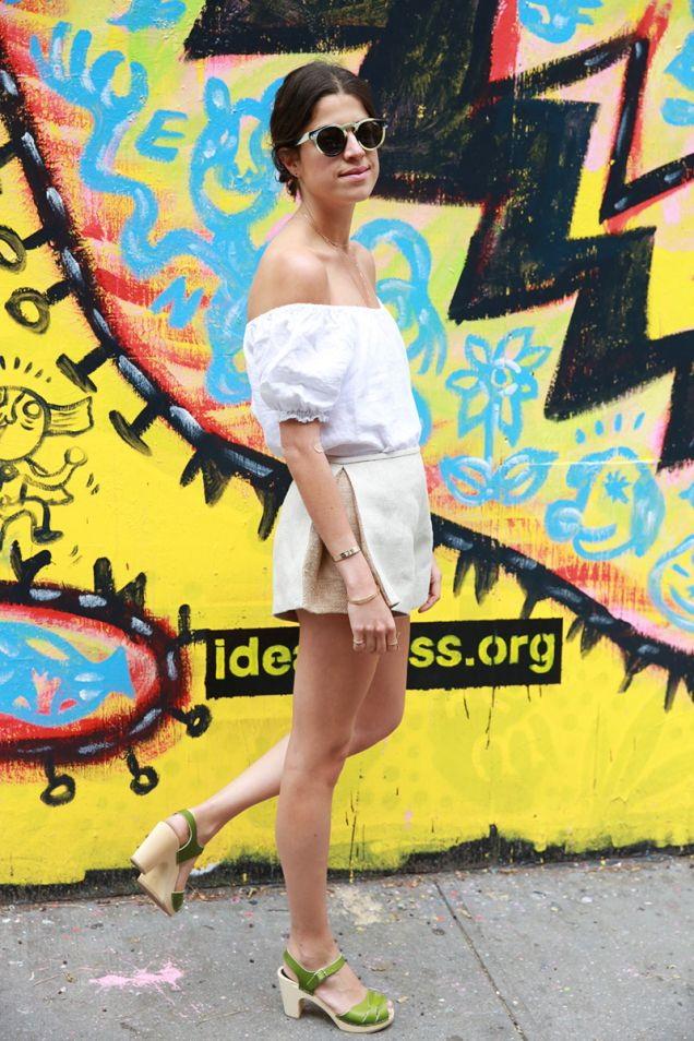 Street Style: Strapless Looks