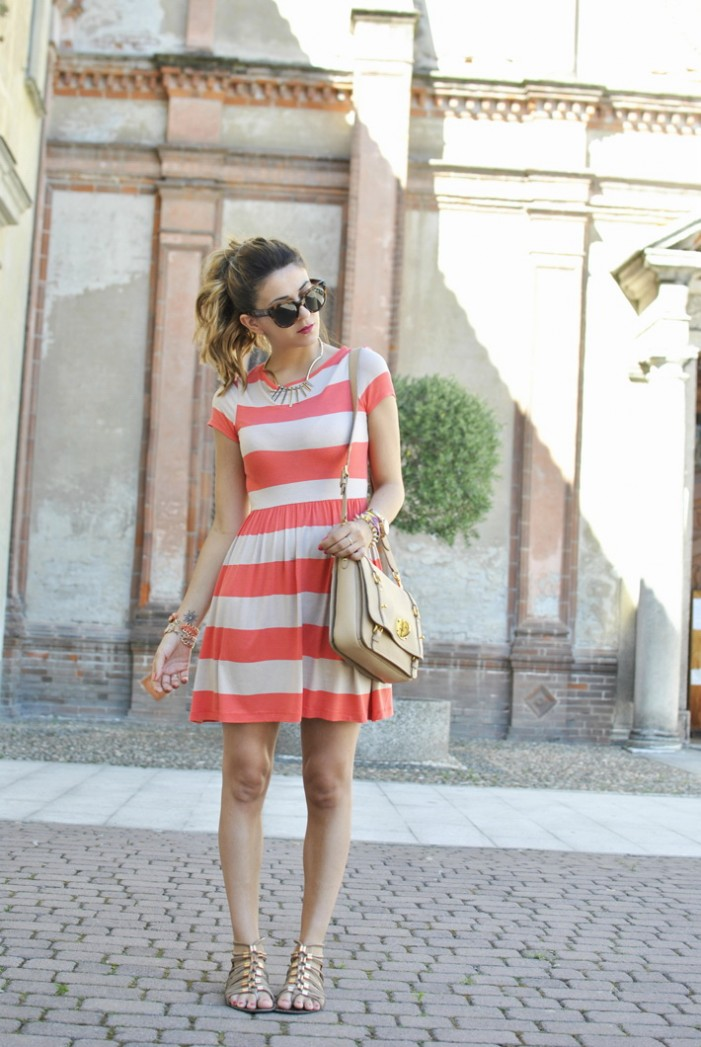 Striped Dresses Styles 2021