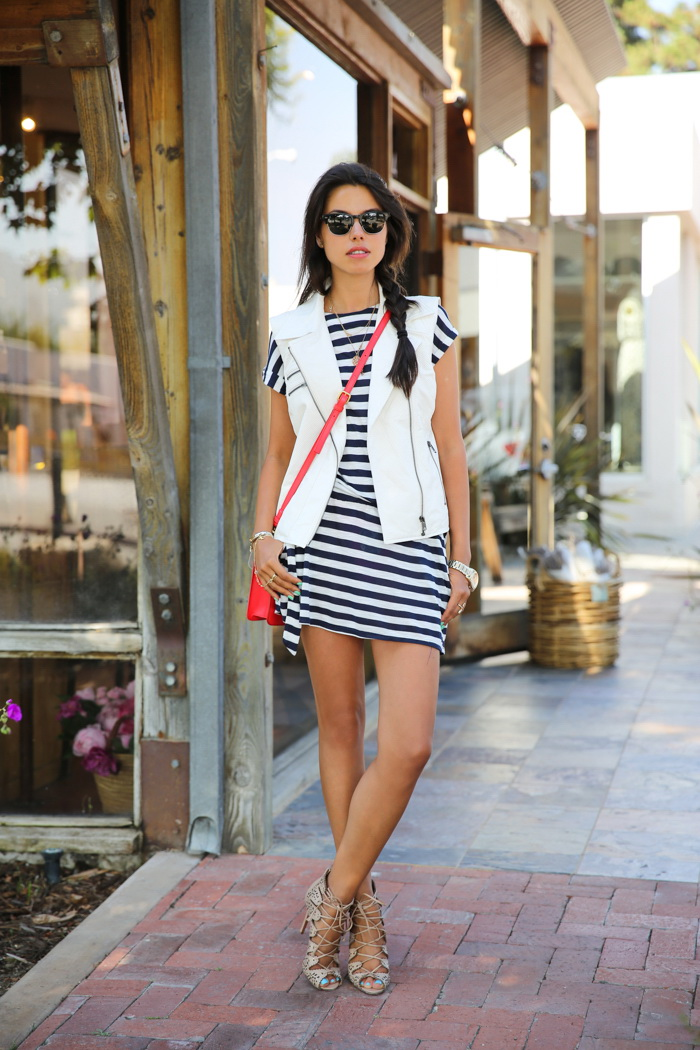 Striped Dresses Styles