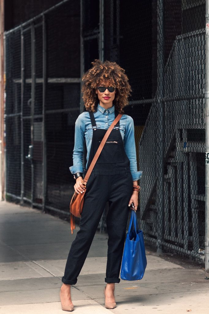 What to Wear with Overalls - Street Style Trends