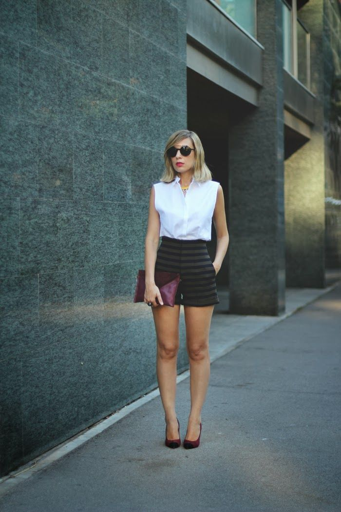 How To Wear: High Waisted Shorts