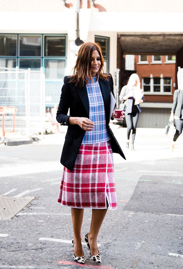 How To Wear Plaid Outfits 2021