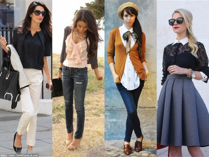 10 Stylish Ways To Wear A Blouse 2019