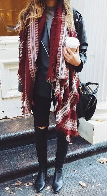 Quick Fall Fashion Upgrade: 16 Cute Scarves