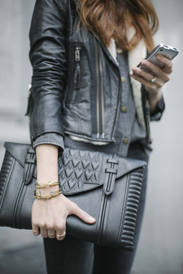 18 Ways to Style a Leather Jacket