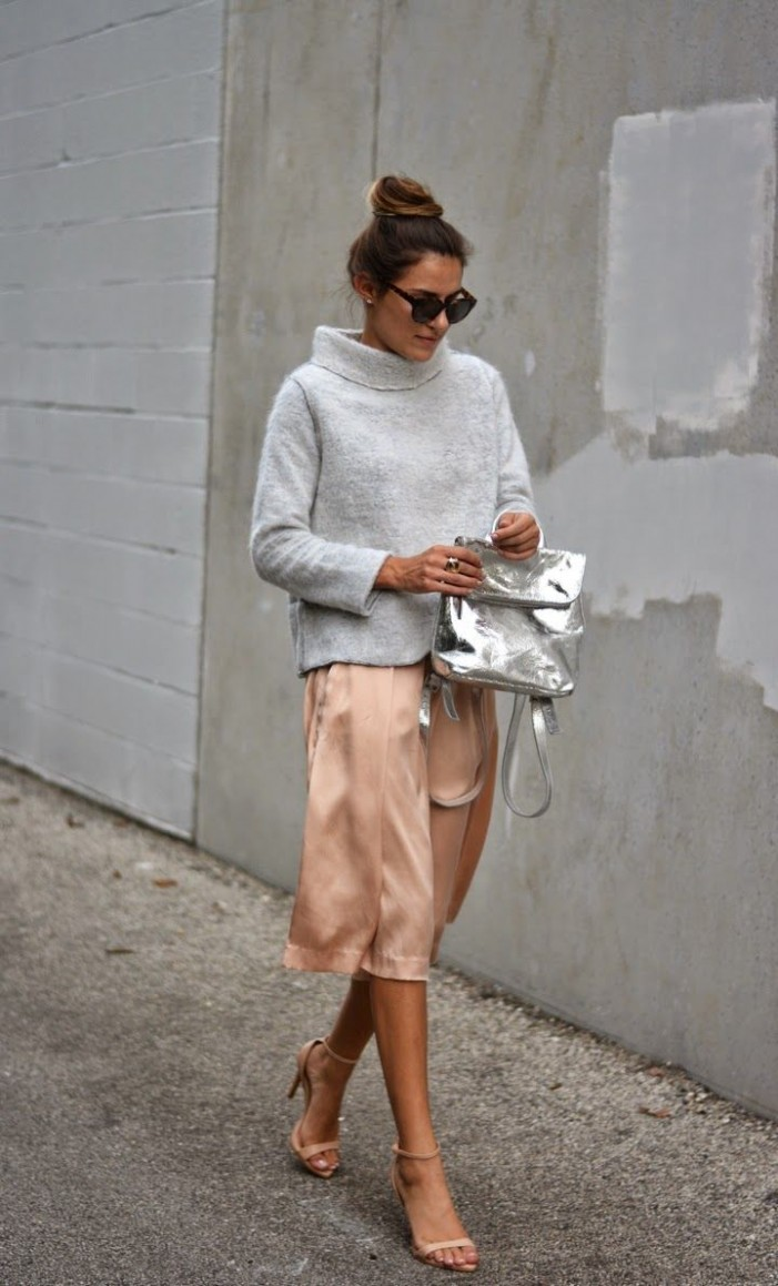 2016 Summer Metallic Outfits For Women