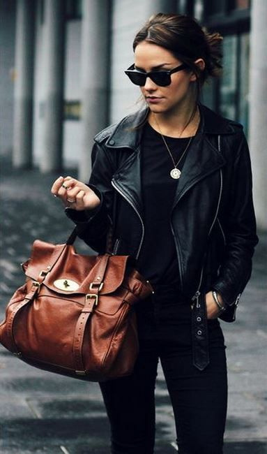 21 Ways to Wear a Leather Jacket This Fall 2019