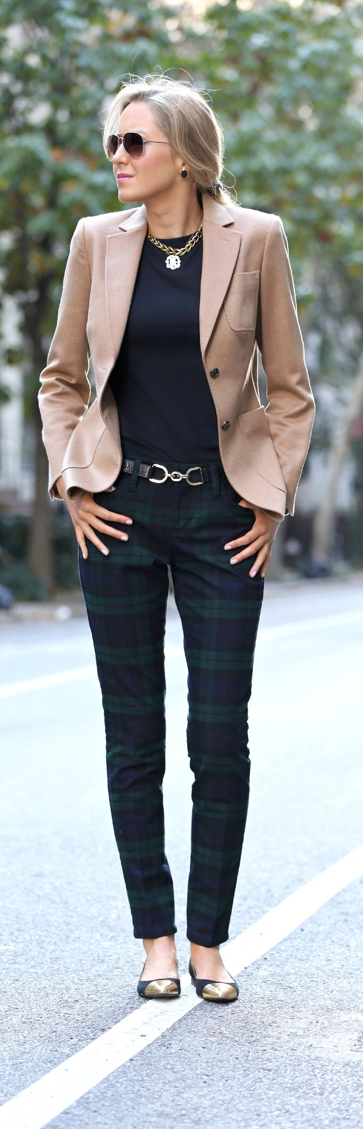 25 Ways to Wear a Blazer This Fall 2017 | Become Chic