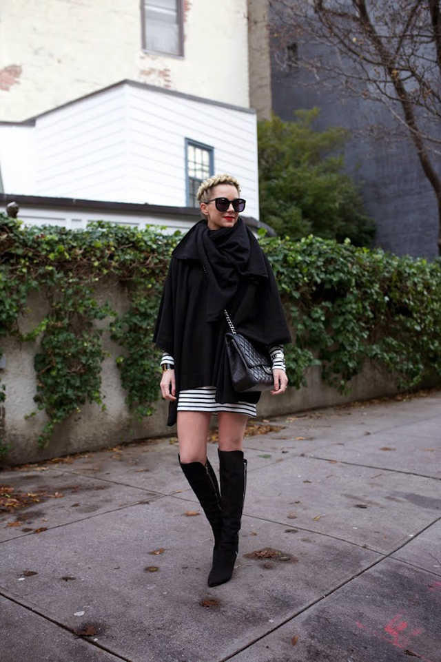 Black and White Style for Fall-Winter