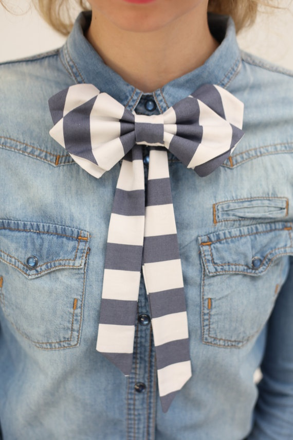 How to Wear a Bow Tie - Hottest Street Style Looks