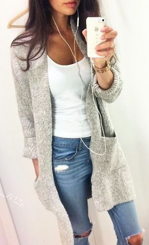 17 Ways To Wear a Cardigan