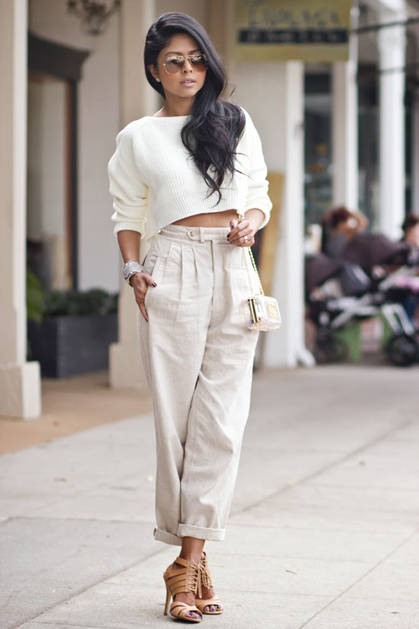 Ways To Style Cropped Pants This Year 2020
