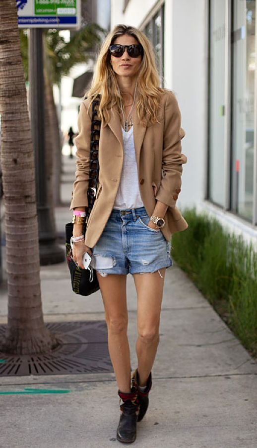 How To Wear Denim Cut Offs