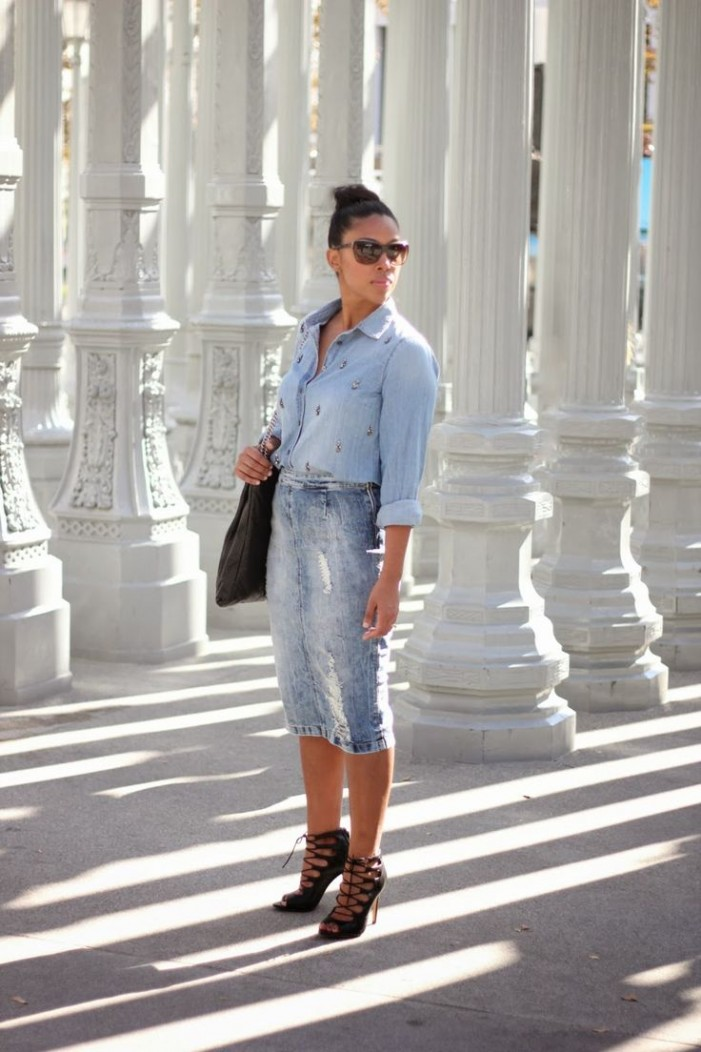 How To Style: Denim on Denim