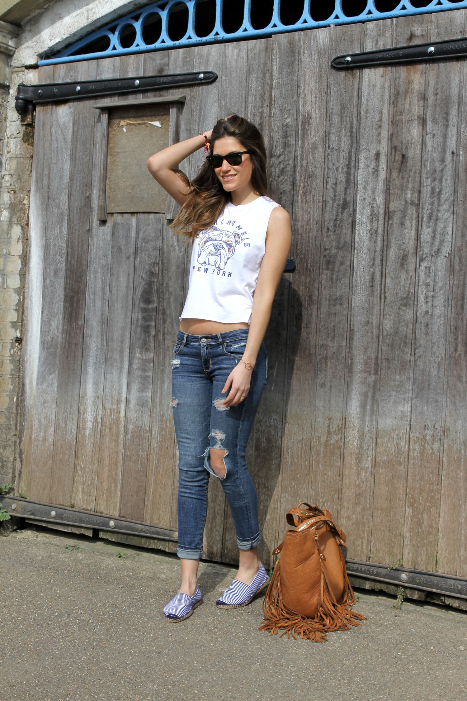Wear you Trendswould wax coated jeans, Gurung Newsprabal for target lookbook