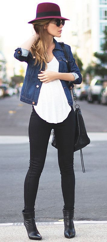 My Favorite 8 Ways To Style Fall Denim Jackets For Women