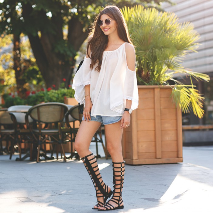 15 Ways To Wear Gladiator Sandals