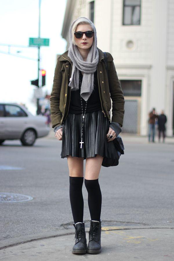 Gothic Street Style Ideas