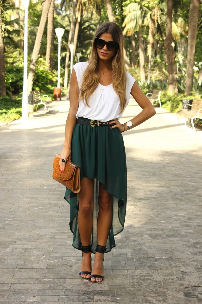 9 Ways to Wear a Hi Low Skirt