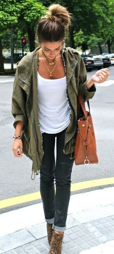 11 Reasons Why You Need Khaki Green Army Jacket For This Fall
