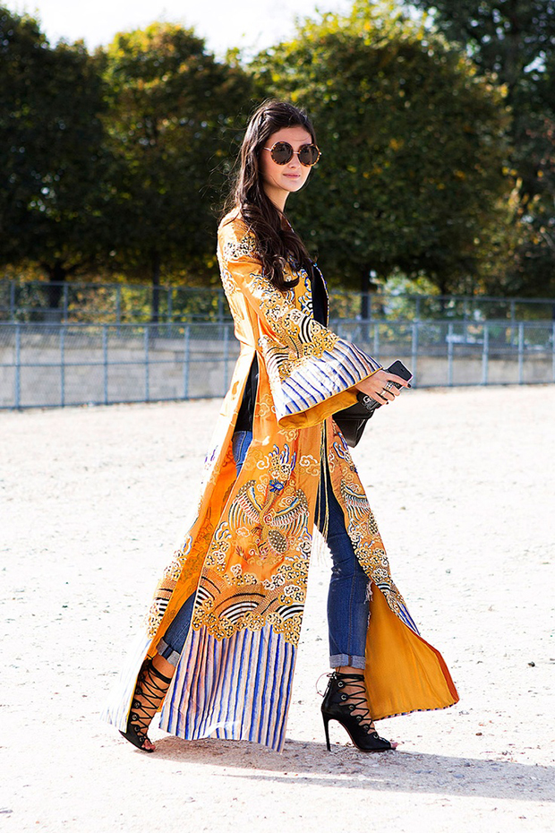 15 Ways To Style Kimono This Year 2018 | Become Chic