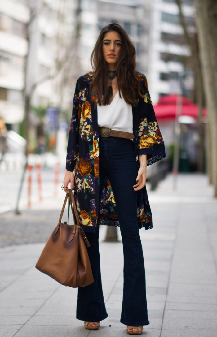 15 Ways To Style Kimono This Year 2019
