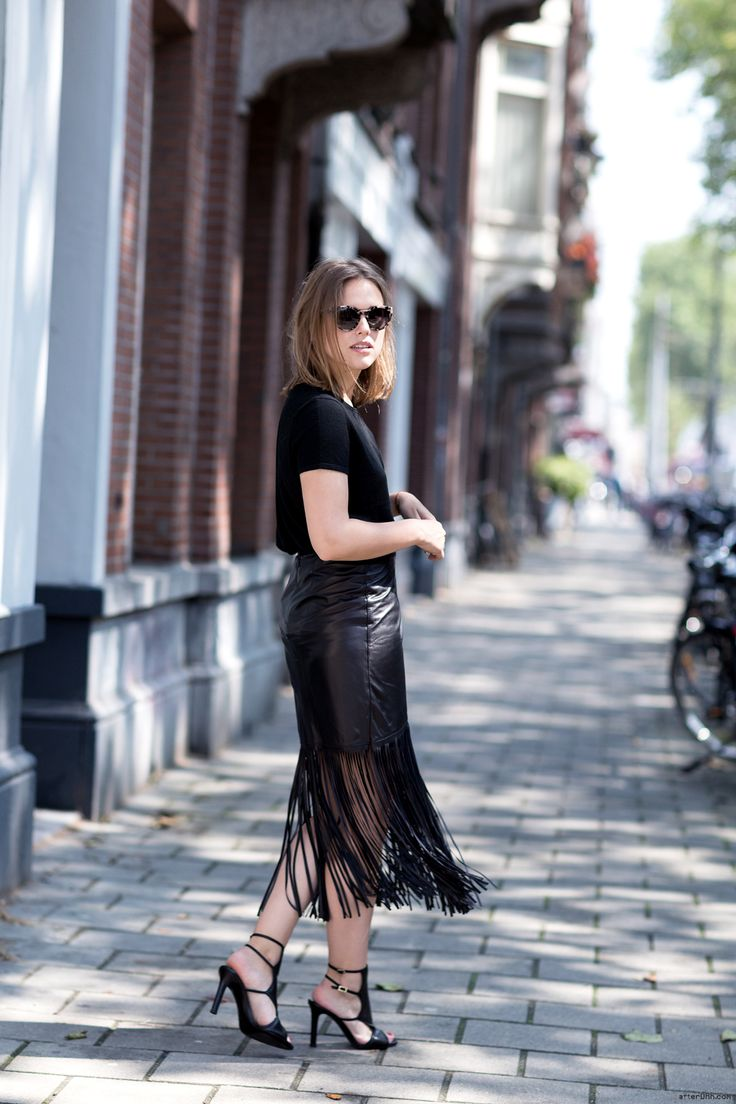 d2013a99e 10 Ways To Wear a Leather Skirt 2019 | Become Chic