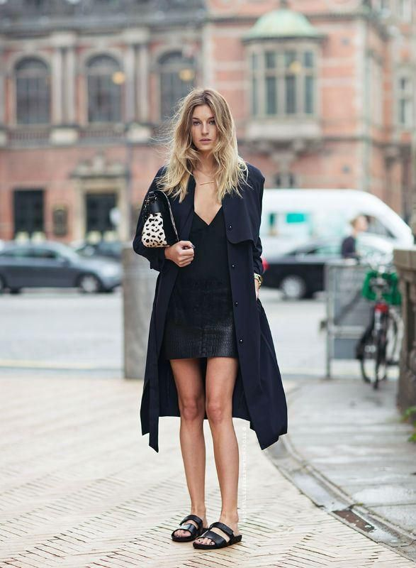 10 Ways To Wear a Leather Skirt