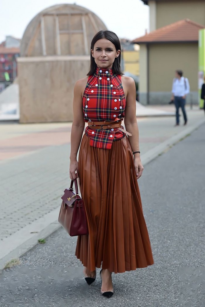 10 Ways To Wear a Leather Skirt 2019