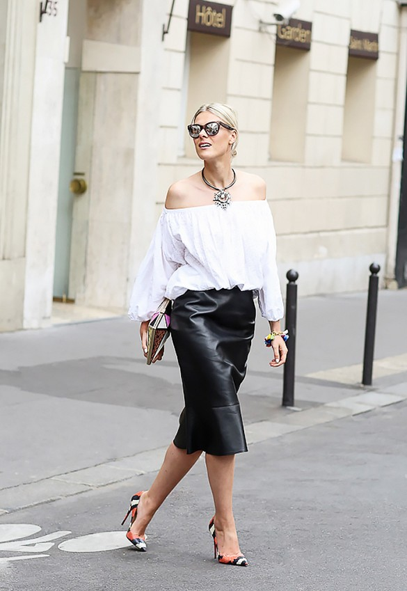 Off-Shoulder Street Style Looks