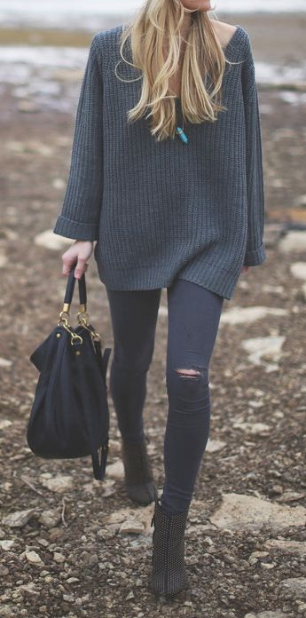 21 Cool Oversized Sweaters For Women 2020