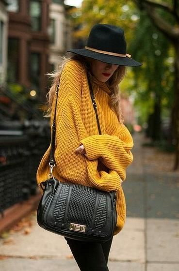 21 Cool Oversized Sweaters For Women 2018 | Become Chic
