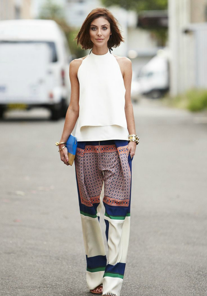 Trend To Try: Patchwork Street Style Looks