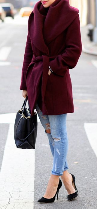 14 Ways To Wear Ripped Jeans This Season (And Still Look Totally Chic)