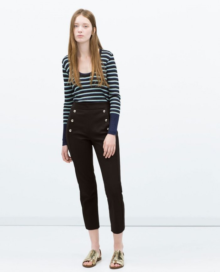 Nautical Street Style: Sailor Pants For Women