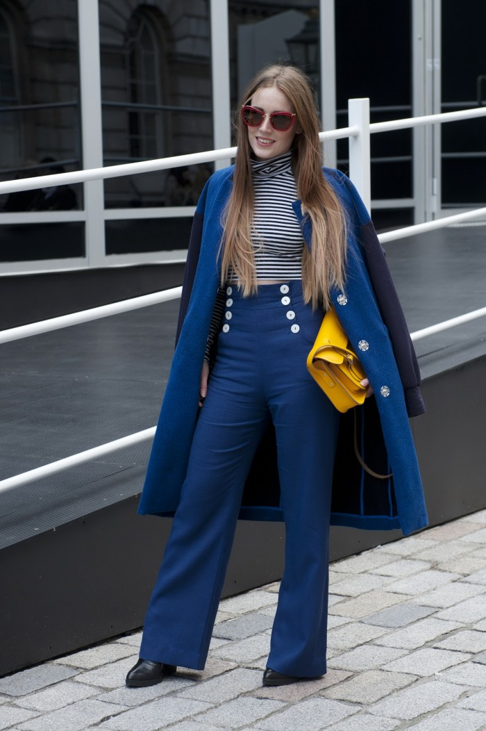 Nautical Street Style Sailor Pants For Women 2019