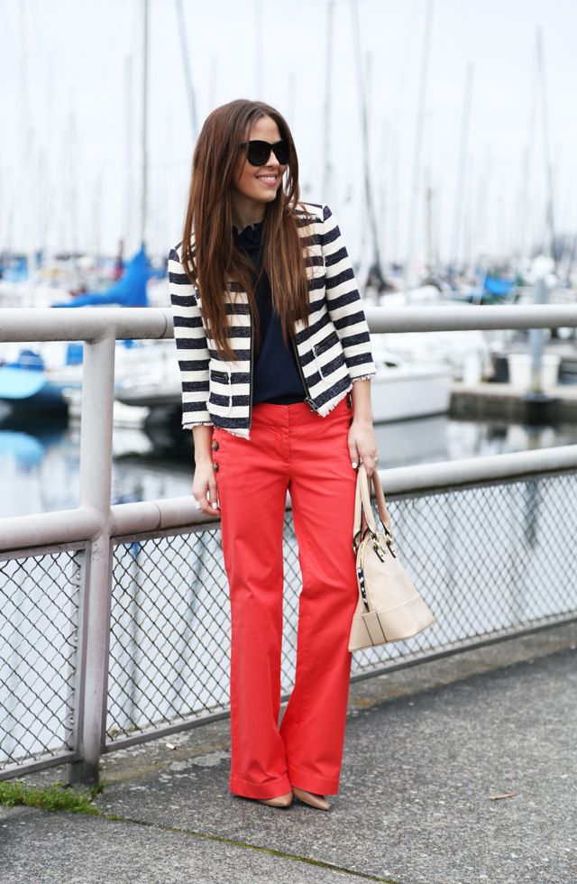 Nautical Street Style: Sailor Pants For Women 2019 ...