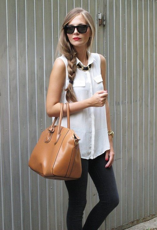 Sleeveless Button-Down Tops For Ladies