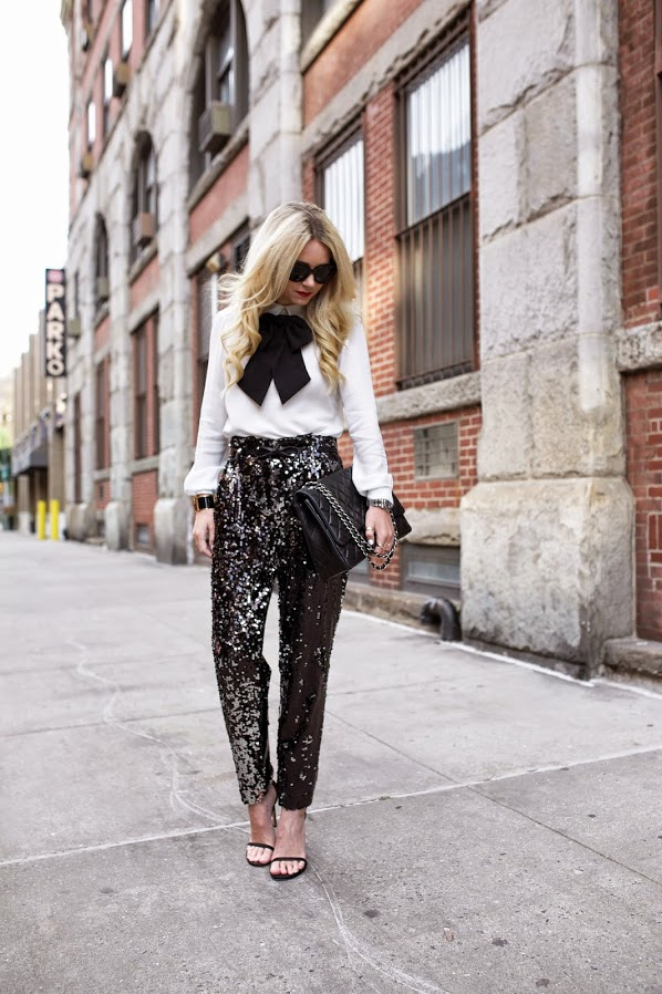 Best Street Style Ways To Wear Sequins In Summer