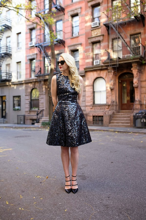 Best Street Style Ways To Wear Sequins In Summer 2019