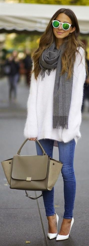 21 Ways to Style Your Sweaters For Fall