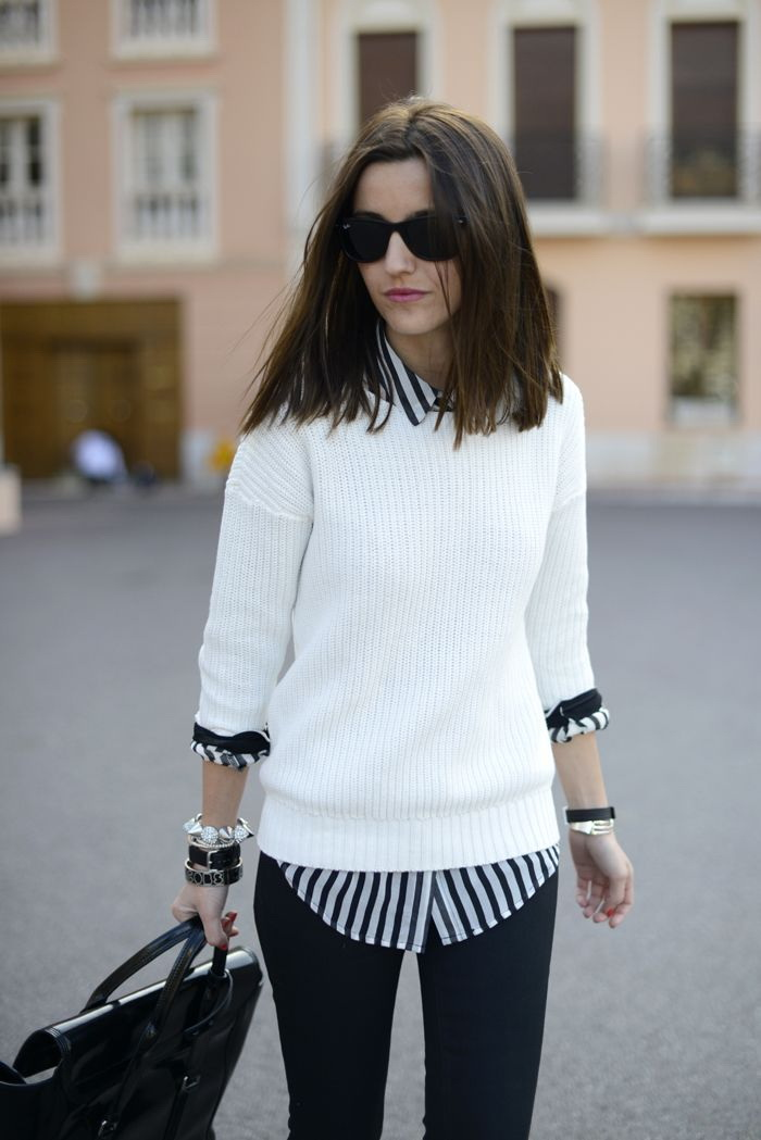 21 Ways to Style Your Sweaters For Fall 2021